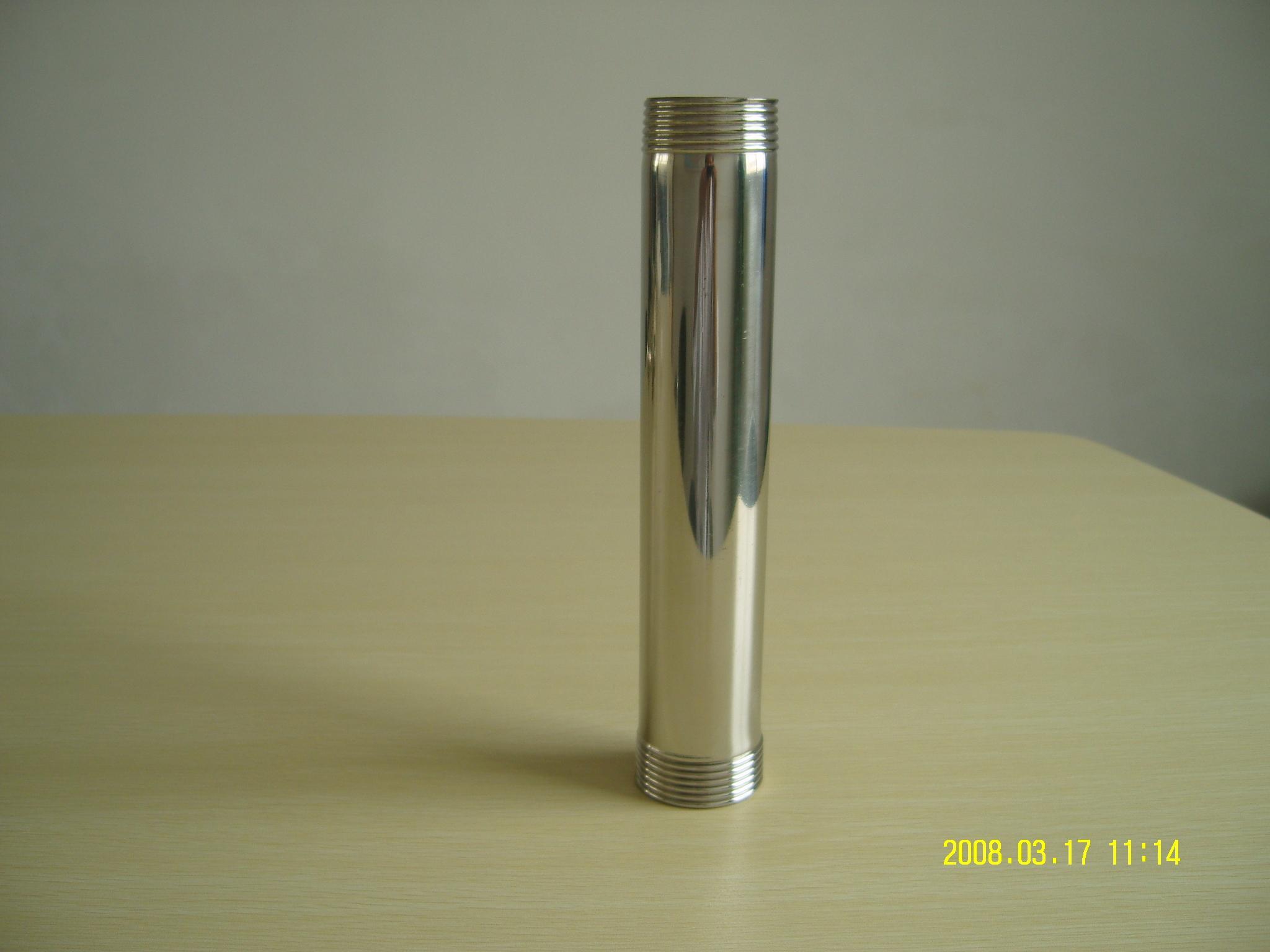 锥螺纹 式薄壁 不锈钢管 它的 螺纹 连接口的强度可高清图片
