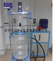 HN-100L双层玻璃反应釜,HN-100L玻璃反应釜