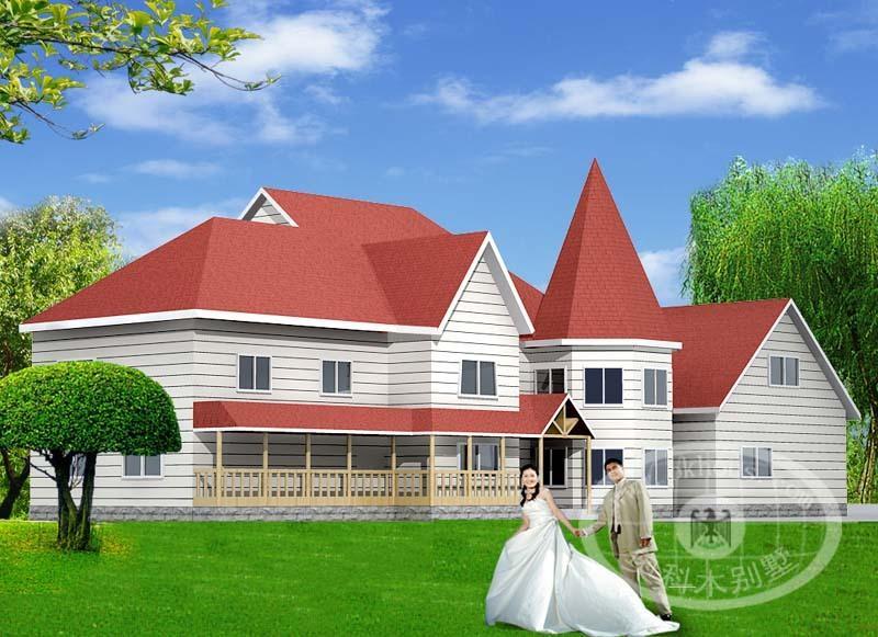 北美木结构别墅