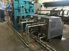 供应三辊压延控温专用水温机厂家