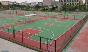 篮球场地面材料厂家  篮球场地面做法