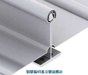 供应新疆直立锁边铝镁锰屋面板