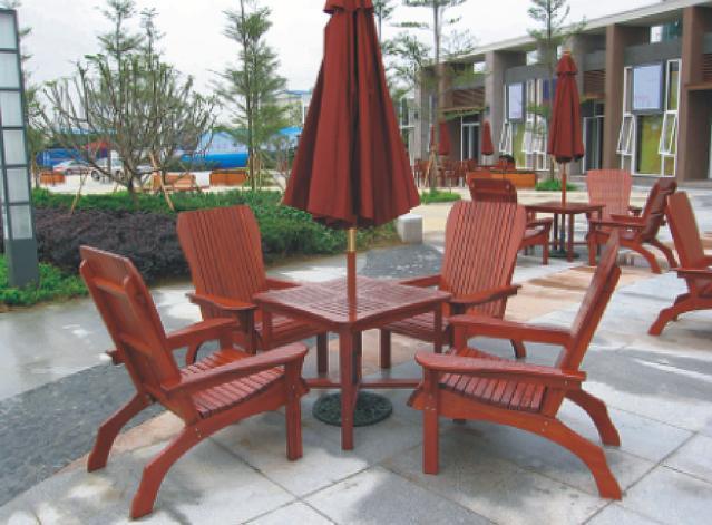 户外公园椅 公园木椅 公园休息椅 户外休闲家具 满逸园林
