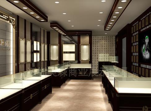 深圳专业设计制作珠宝展柜