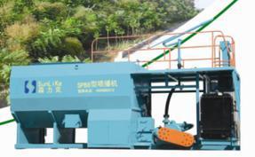 绿化工程︱绿化设备︱边坡绿化客土喷播机租赁