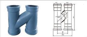 聚丙烯静音排水管——H管