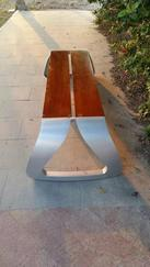 塑胶木休闲公园椅