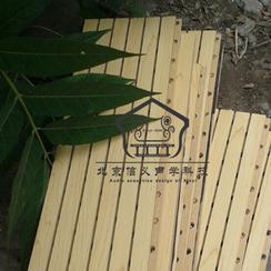 供应进口澳松木质穿孔吸音板槽木吸音板