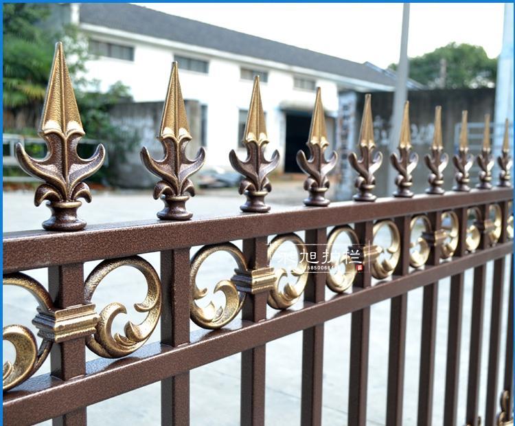 铝合金别墅庭院护栏定制 欧式高档花园栏杆栅栏