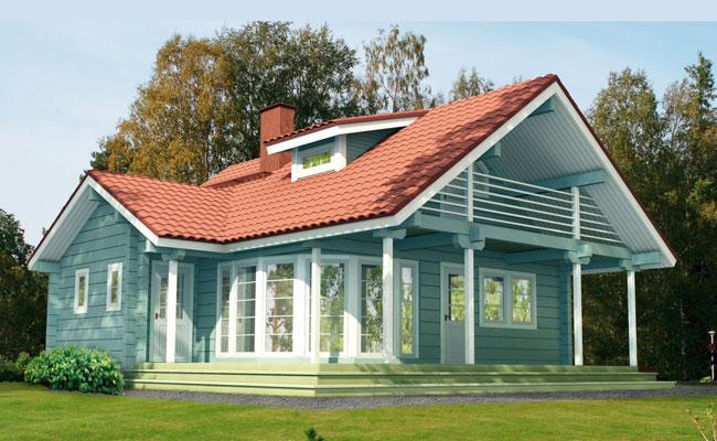 欧式木屋别墅专业供应商首佳木结构图片