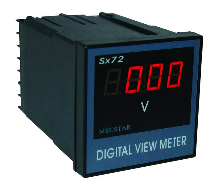 sx72数显电压表/数显电流表