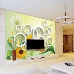 无缝墙布墙纸 3D背景 厂家定制