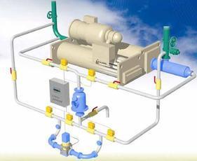沁元冷凝器在线清洗系统