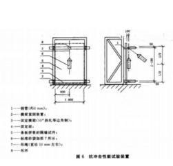 建筑隔墙用轻质条板抗冲击性能试验装置,隔墙板吊挂力装置,隔墙板检测仪