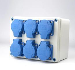 曼奈柯斯工业插头插座 工业插头防水 多功能插头插座 检修箱插座