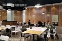 西安厂家免漆木纹板活动屏风