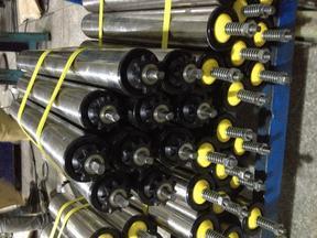 磨擦式链轮滚筒 堆积式托辊
