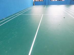 羽毛球馆PVC地板 广东深圳 阻燃、防水羽毛球PVC地板厂家