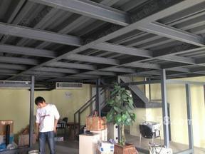 金属阁楼钢结构搭建安装