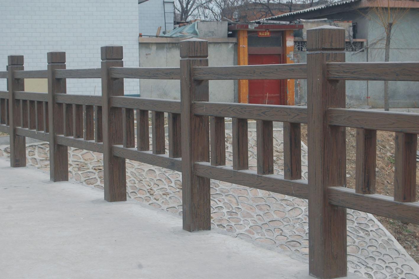 驰升桥梁水泥仿木栏杆