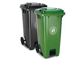 新疆垃圾桶厂家,塑木垃圾桶供应商
