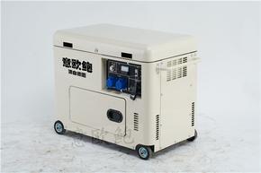 220V5千瓦静音柴油发电机
