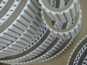 堆垛机同步带  白色钢丝芯同步带