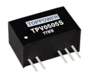 DC/DC电源模块 TPV0505S/TPV0505D DC-DC-1W