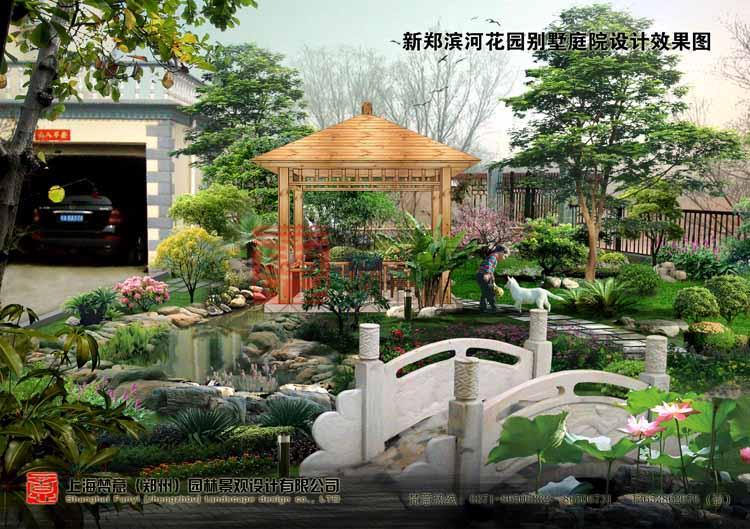郑州热水花园景观设计要求-梵意园林设计别墅v热水别墅
