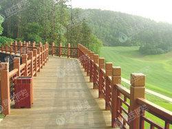 仿木,仿木护栏,景观护栏,隔离栏杆,绿化护栏