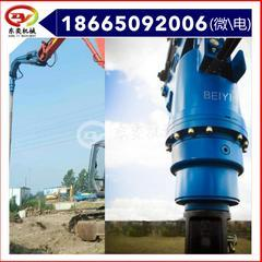 挖掘机配件螺旋钻机 螺旋地钻 钻坑机 东奕机械