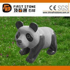 山西黑熊猫雕刻GAB560