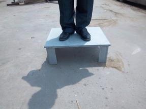 B88屋面保温纤维水泥隔热架空板凳,隔热凳