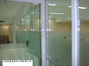 大连防火玻璃隔断厂家制作安装