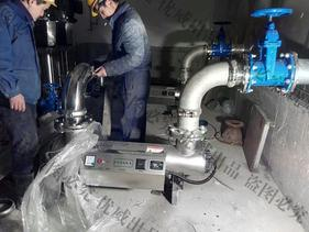 安徽人民医院优威紫外线消毒器杀菌器安装现场