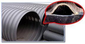 钢带增强聚乙烯缠绕结构壁管