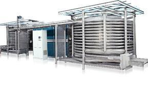 海特瑞思厂家推荐鸡翅双螺旋式速冻机 速冻机螺旋机 单冻机