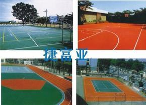 广州球场地坪漆,球场地坪施工,网球场地坪
