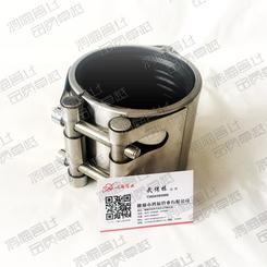 不锈钢单边管夹快速连接器