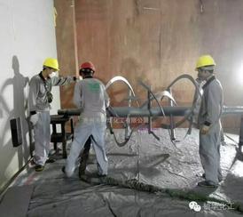 金属搅龙螺旋喷涂聚脲耐磨防腐涂料
