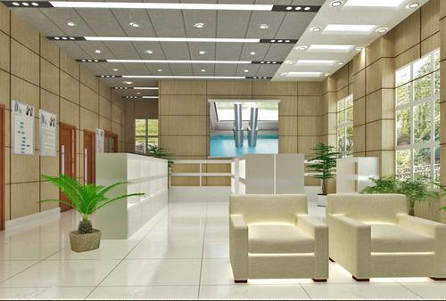 石家庄公司总经理办公室装修设计效果图
