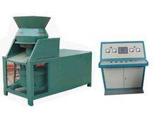 山东秸秆压块机/秸秆煤炭成型机/秸秆成型机/秸秆煤炭20090308