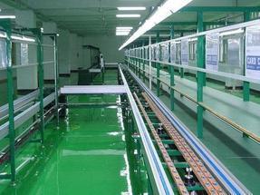 电子厂自动化流水线工作台设计安装