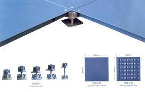 防静电活动地板、高架地板销售、施工