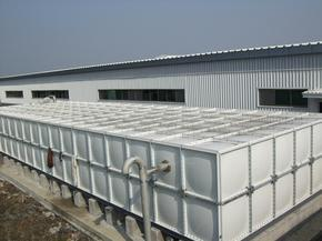 玻璃钢模压水箱北京麒麟公司