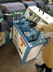 钢筋除锈翻新不再难冠华钢筋除锈机让您的钢筋换新颜