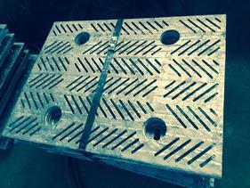 天华供应铸造筛板 振动筛配备件