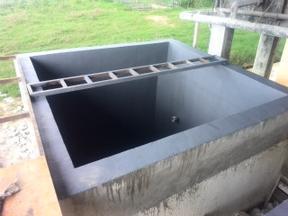 耐酸碱玻纤防腐池