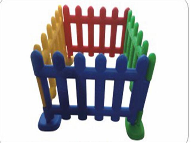 幼儿园塑料围栏,隔离栏