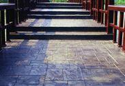 彩色混凝土压花路面材料